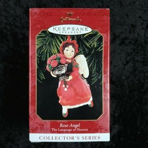 Hallmark Keepsake Ornament Rose Angel NEW